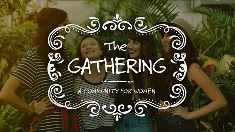 They Gathering Womens event at the Crossing church in costa mesa